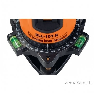 Kryžminių linijų lazeris DEFORT DLL-10T-K 2