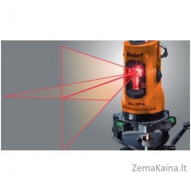 Kryžminių linijų lazeris DEFORT DLL-10T-K 3