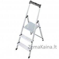 Kopėčios Ladder 3 step freestanding Krause Solidy 126214