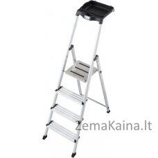 Kopėčios Ladder 4 step aluminium Krause Secury 126528