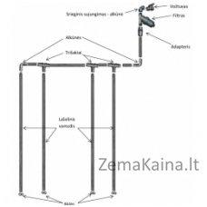 Laistymo sistema KLASIKA DROP 8 m ilgio šiltnamiui