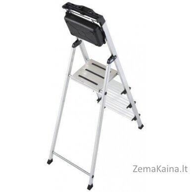Kopėčios Ladder 4 step aluminium Krause Secury 126528 2
