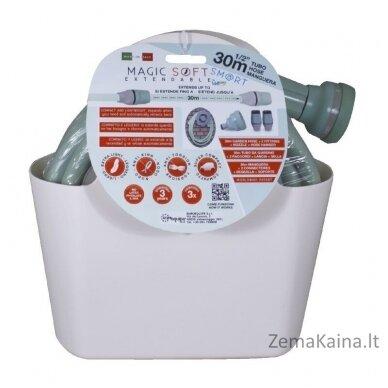 Laistymo žarna Ikra Magic Soft Smart Hose 30m 11