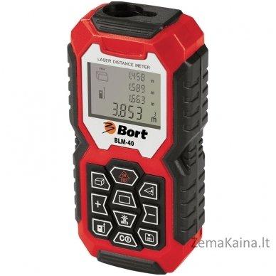 Lazerinis atstumų matuoklis Bort BLM-40