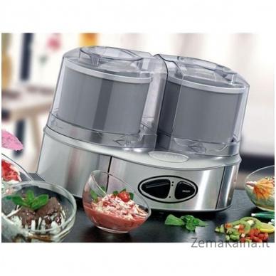 Ledų gaminimo aparatas Cuisinart ICE40BCE, dvigubas, 50 W 2