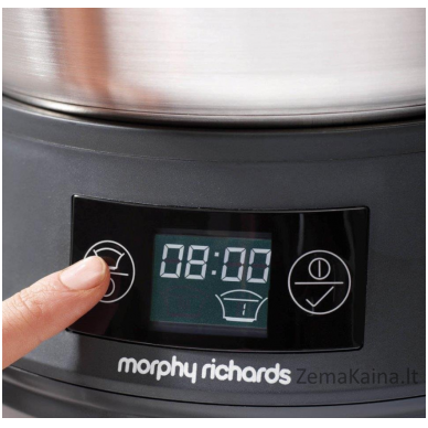 Lėto virimo puodas MORPHY RICHARDS 461007 Supreme Precision 3in1 4