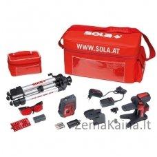 Linijinis taškinis lazeris iOX5 Profiset (profesionali komplektacija) Sola