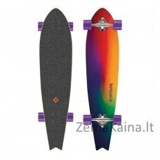 """Longboardas Street Surfing Fishtail - Sunset Blur 42"""", kinų klevas, ABEC-9"""