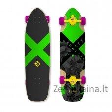 "Longboardas Street Surfing Freeride Electrica 36"", kinų klevas, ABEC-9"