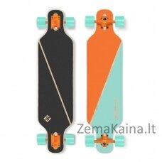 "Longboardas Street Surfing Freeride – Nordic Orange 39"" -  ABEC 9"