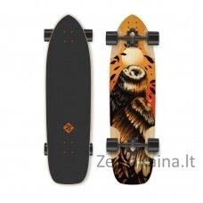 "Longboardass Street Surfing Freeride Owl 36"", kinų klevas, ABEC-9"