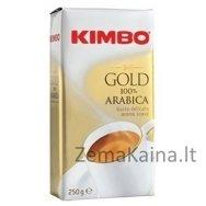 Malta pupelių kava KIMBO Gold 100% Arabica, 250 g