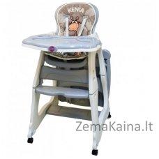 Maitinimo kėdutė - transformeris Coto Baby Kenia Grey