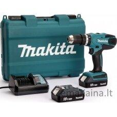 Makita HP457DWE  1,7 kg 2  x  1.5  Ah