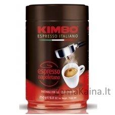 Malta pupelių kava KIMBO Espresso Napoletano, 250 g skardinė