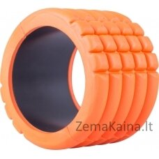 Masažinis jogos volas inSPORTline Elipo 14x10cm - Orange