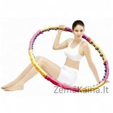 Masažinis lankas Dynamic W Health Hoop, 108 cm