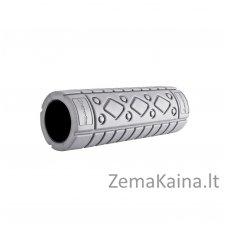 Masažinis volas inSPORTline Cilindro 10x30cm (pilkas)