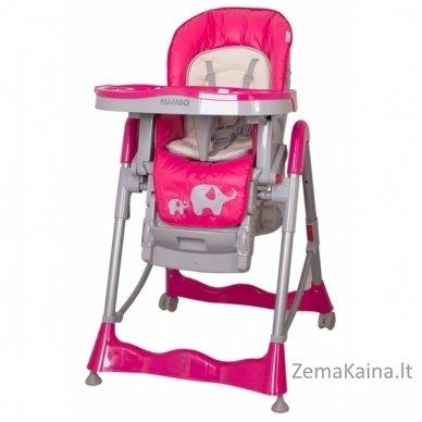 Maitinimo kėdutė Coto Baby Mambo Hot Pink 2in1