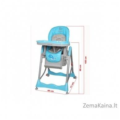 Maitinimo kėdutė Coto Baby Mambo Hot Pink 2in1 5