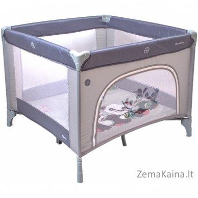 Maniežas Coto Baby Conti Grey