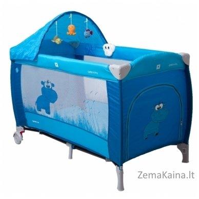 Maniežas Coto Baby Samba Lux Blue