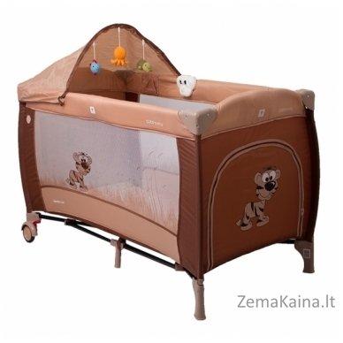Maniežas Coto Baby Samba Lux Brown