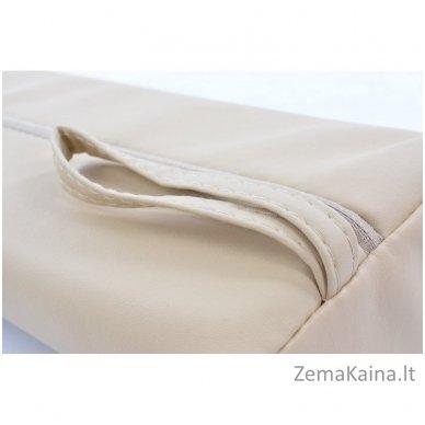 Masažinio stalo pagalvėlė Restpro pusinė / beige 4