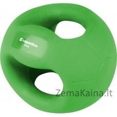 Medicininis kamuolys su rankenomis inSPORTline GrabMe 5kg
