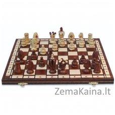 Mediniai šachmatai King's 48