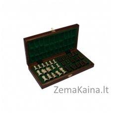 Mediniai šachmatai PEARL CHESS Magiera 24301