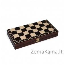Mediniai šachmatai PEARL CHESS Magiera 35x35 cm