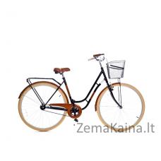 Miesto dviratis Grunberg Holland (Juoda/Ruda) 70CM