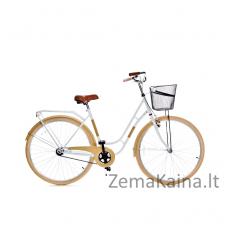 Miesto dviratis Grunberg Holland (Balta/Kreminė) 70CM