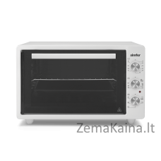 Mini orkaitė Simfer Midi Oven M4531.R02N0.WW 36.6 L, Free standing, White, 90 min, with fan, 1300 W
