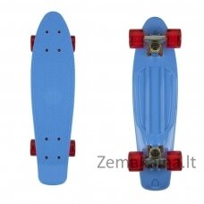 "Mini riedlentė Penny Board Fish Classic 22"" ABEC11 - Blue/Silver/Red"