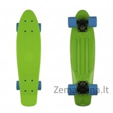 "Mini riedlentė Penny Board Fish Classic 22"" ABEC11 - Green-Black-Blue"