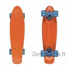 "Mini riedlentė Penny Board Fish Classic 22"" ABEC11 - Orange-Blue-Transparent Blue"