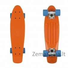 "Mini riedlentė Penny Board Fish Classic 22"" ABEC11 - Orange/White/Blue"