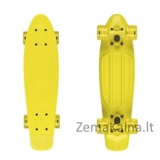 "Mini riedlentė Penny Board Fish Classic 22"" ABEC11 - Yellow-Yellow-Transparent Yellow"