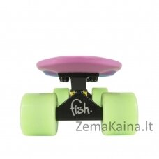 Mini riedlentė Penny Board Fish Classic 3Colors 22ʺ ABEC11 - Grey+Yellow+Red-Black-Black