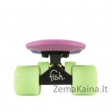 Mini riedlentė Penny Board Fish Classic 3Colors 22ʺ ABEC11 - Yellow+Summer Purple+Green-Yellow-Summer Purple