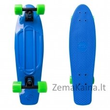 "Mini riedlentė Penny Board Worker Blace 27"" ABEC11 -  Blue"