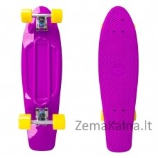 "Mini riedlentė Penny Board Worker Blace 27"" ABEC11 - Purple"