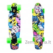 Mini riedlentė Penny Board Worker Colory 22ʺ ABEC11 - Angry Green