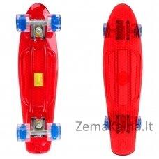 Mini riedlentė su šviečiančiais ratukais Maronad Retro 22ʺ ABEC-7 - Red