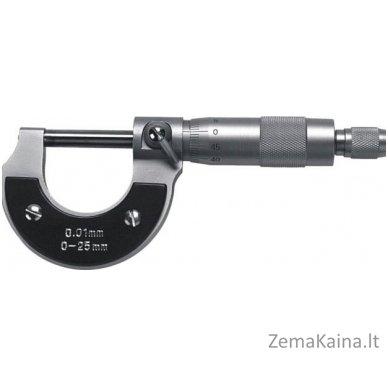 Mikrometras 533 0-25/0,01 mm, Scala