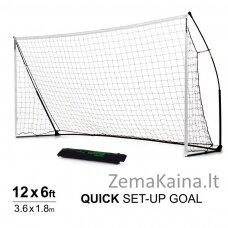 Mobilūs futbolo vartai QuickPlay Kickster Academy 366x183x100cm