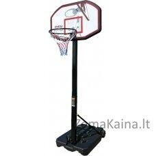Mobilus reguliuojamas krepšinio stovas Spartan Chicago 110x70cm