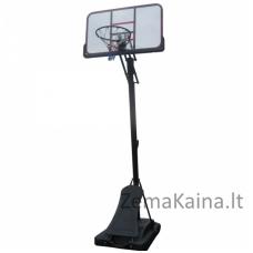 Mobilus reguliuojamas krepšinio stovas Spartan Pro 122x71cm
